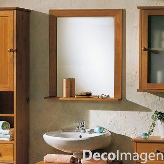 Espejo C Repisa Para Ba O Tama O 0 80 X 0 60 M M 7cm