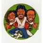 Figurita Redonda Album Chapitas 1981 Grupo Bee Gees Nº53