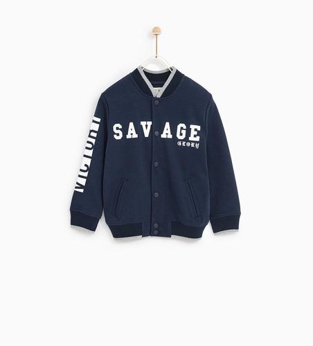 3f174e39 Zara Kids Niños - Campera Bomber Savage