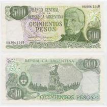 Argentina, Billete 500 Pesos Ley 18188, Bottero 2433, Sc