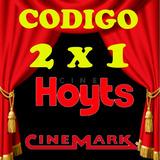 Codigo 2 X 1 Hoyts Cinemark 2d, 3d, O Xd