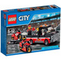 Lego City Racing Bike Transporter Moto De Carrera Original