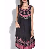 Vestido Solero Importado Hindu Varios Talle L~xxxl