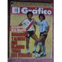 Maradona Y Alonso El Grafico 3508 De 1986 Menotti Boca River