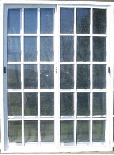 Puerta ventana balcon vidrio entero 150x200 aluminio for Puertas y ventanas de aluminio blanco precios