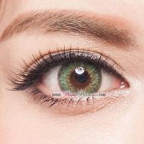 Lentes Contacto Color Dueba Barbie Shinny Green