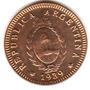Moneda Argentina De Cobre 2 Centavos Año 1939 Sin Circular