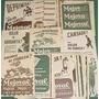 Clipping Lote 33 Publicidades Antiguas Mejoral Medicinas