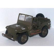 Auto Escala 1/32 Jeep Willys Replica Exacta De Metal Oferta