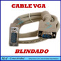 Cable Vga 1,5mts Blindado Con Filtros Hdtv Led Tv Lcd Cañon