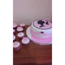 Torta Decoradas Infantiles, Cumpleaños 2 Kilos + 12 Cupcakes