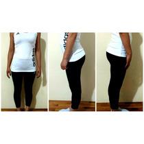 Capris Adidas De Mujer De Lycra Sin Friza, Negro