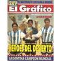 El Gráfico 3943 A- Argentina Campeon Mundial Juvenil Sub 20
