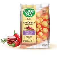 Salgadinho de Soja Snack Calabresa com Pimenta - 25g GoodSoy