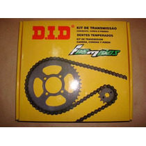 Kits De Transmision Did Brasil P/yamaha Ybr 125-fas Motos!