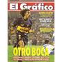 El Gráfico 3929 A- Manteca Martinez- Boca/ Omar Asad- Velez