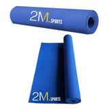 Mat Colchoneta Yoga Pilates Fitness 4 Mm Enrollable Gym