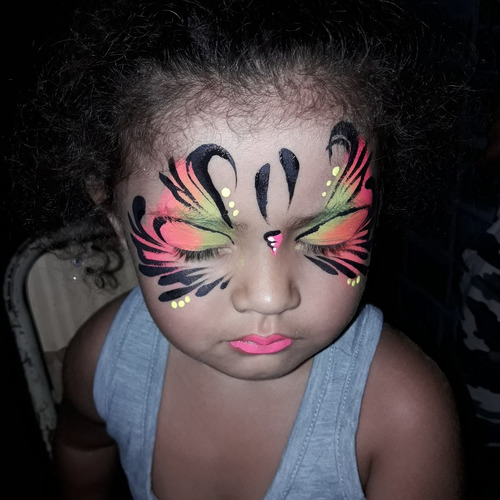f86000cc4 Maquillaje Artístico Infantil Cumpleaños Halloween Eventos