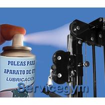 Cable D Acero Forrado Negro P/ Gimnasios -lubricante