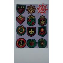 Escudos, Bordados, Parches 4cm X 3cm