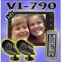 Portero Visor Color Lcd 7 + 2 Camara Infrarroja Cctv Segurid