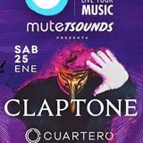 Entrada Claptone - Cuartero - Kolombo 25-01 Mute Mdq