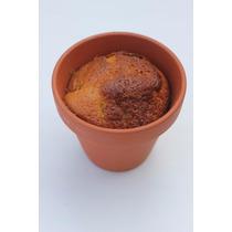 Cupcakes Molde #12 Maceta Barro Souvenier Fabrica Local Once