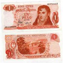 Billete 1 Peso Ley Serie A El Primero Sin Circular