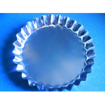Set X 6 Molde Para Tarta Individual Tartera Fondo Fijo 10cm