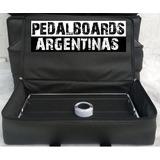 Pedalboard - Plataforma De Fx -60x31 Con Estuche Semi Rigido