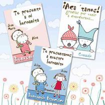 10 Souvenirs De Nacimiento Iman Personalizados Bebe Mellizos