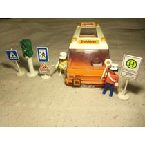 Playmobil Transporte Escolar Camioneta Escolares