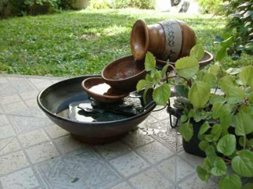 Fuente para exterior o interior cacharros rusticos otros - Fuentes de agua de interior ...