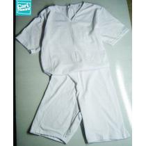Disfraz De Loco Camisa De Fuerza Pijama Blanco Enfermero New