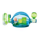 Hamstera Acrilica Habitrail Ovo - Home Azul Edicion