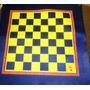 Tablero De Ajedrez De Hule Y Backgammon 35 X 35