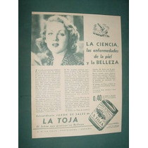 Publicidad Antigua Jabones La Toja Sales Ciencia De La Piel