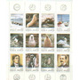 Argentina Mint Block 34 Pioneros Australes Y Fauna Ii