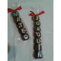Chocolates Personalizados Nombre Souvenirs