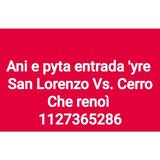 San Lorenzo Vs Cerro Porteño 2019 Visitantes