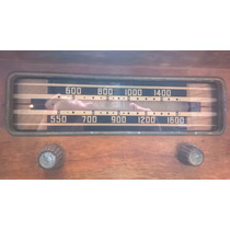 Radio Antigua Philco Mueble Madera No Funciona Vintage