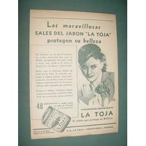 Publicidad Antigua Jabones La Toja Sales Protegen Belleza