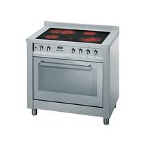 Cocina Horno Electrico Vitroceramico Ariston Cp0v9 Mxs