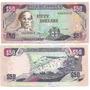 Billete Jamaica 50 Dolares Año 2004 Sin Circular