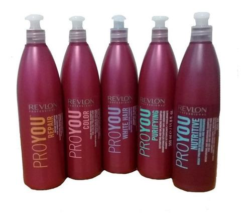 Shampoo Revlon Proyou 350 Ml Color Repair Nutritivo White