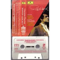 Placido Domingo Puccini Manon Lescaut Cassette
