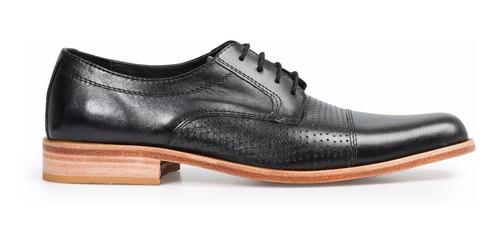 63b534a7 Tremendo Scarpe Zapato Hombre Vestir Sport Suela Cuero Negro