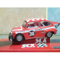 Fiat 600 Abarth Scx Auto Para Pista Scalectrix Solt !!!!!!!