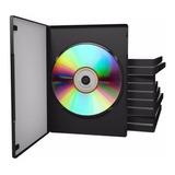 100 Cajas Estuche Dvd Simple 14mm Nacional | El Mejor Precio