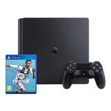 Sony Playstation 4 Slim 500gb Fifa 19 Bundle Jet Black